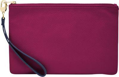 Fossil RFID Wristlet Raspberry Wine - Fossil Designer Handbags
