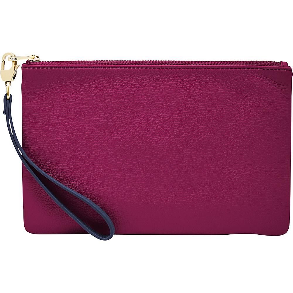 Fossil RFID Wristlet Raspberry Wine - Fossil Designer Handbags - Handbags, Designer Handbags
