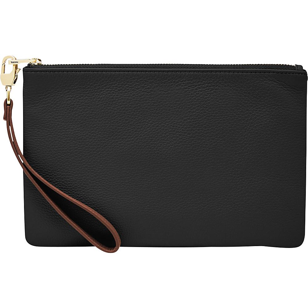 Fossil RFID Wristlet Black - Fossil Designer Handbags - Handbags, Designer Handbags