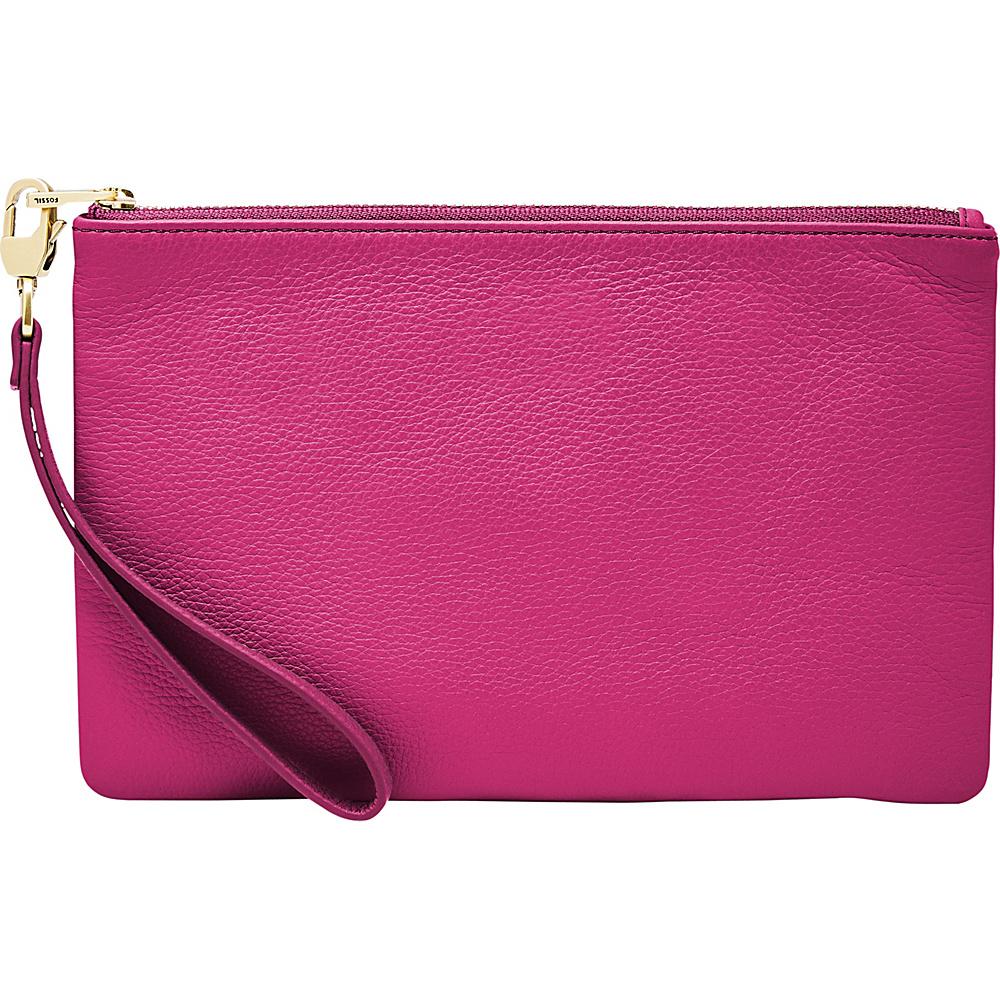 Fossil RFID Wristlet Hot Pink - Fossil Designer Handbags - Handbags, Designer Handbags