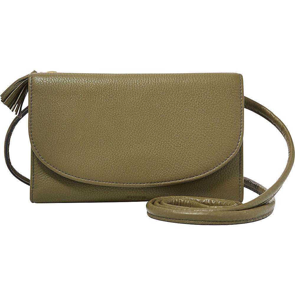 Fossil Sophia Wallet Crossbody Rosemary - Fossil Designer Handbags - Handbags, Designer Handbags