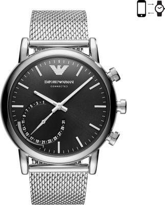 Emporio Armani Hybrid Smartwatch Silver - Emporio Armani Wearable Technology