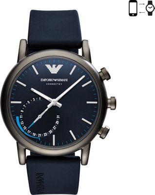 Emporio Armani Hybrid Smartwatch Blue - Emporio Armani Wearable Technology