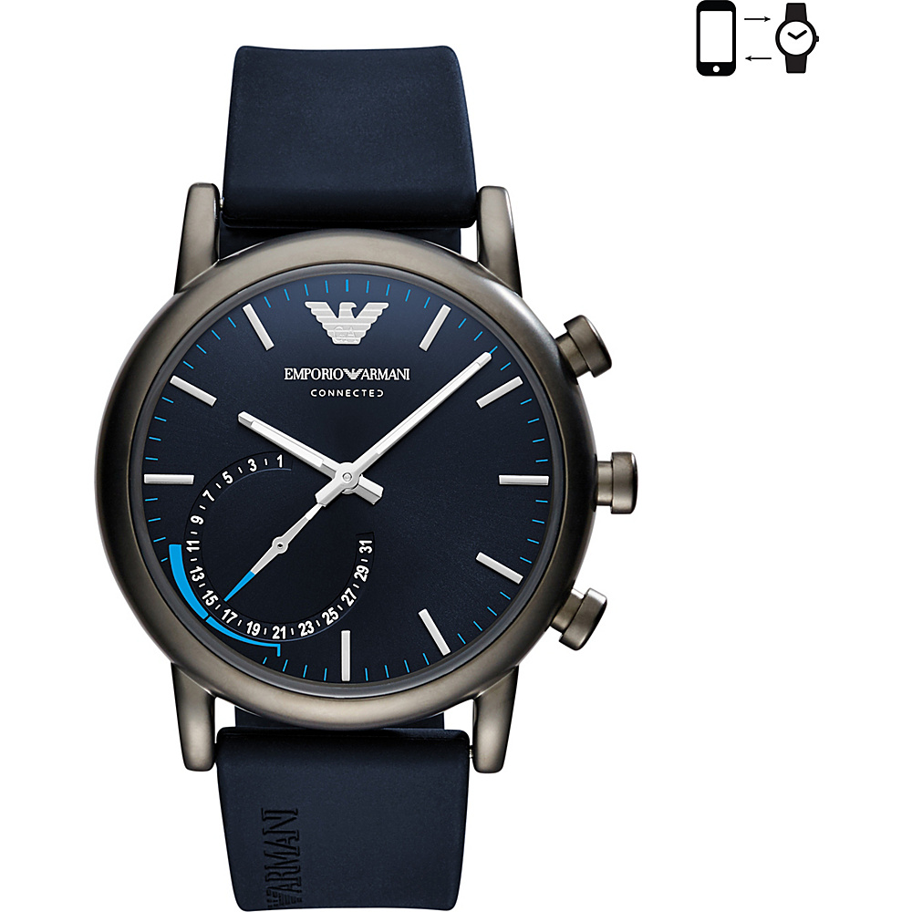 Emporio Armani Hybrid Smartwatch Blue - Emporio Armani Wearable Technology