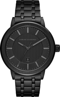 A/X Armani Exchange A/X Armani Exchange Street Watch Black - A/X Armani Exchange Watches