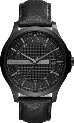 A/X Armani Exchange A/X Armani Exchange Dress Watch Black - A/X Armani Exchange Watches
