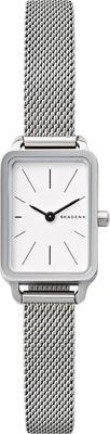 Skagen Hagen Mini Rectangular Watch Silver - Skagen Watches
