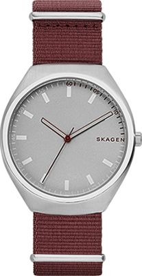 Skagen Grenen NATO Watch Red - Skagen Watches
