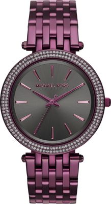 Michael Kors Watches Darci Three-Hand Watch Plum - Michael Kors Watches Watches
