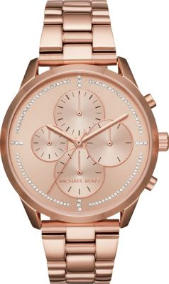 Michael Kors Watches Slater Chronograph Watch Rose Gold - Michael Kors Watches Watches