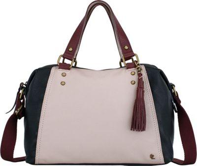Elliott Lucca Corina Satchel Truffle Block - Elliott Lucca Designer Handbags
