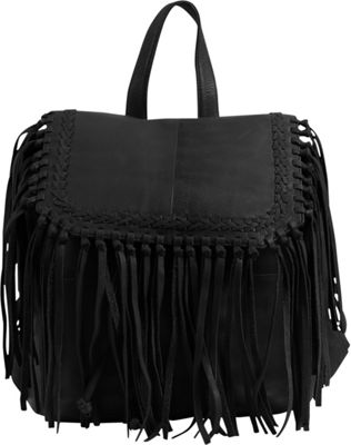 Day & Mood Anna Backpack Black - Day & Mood Leather Handbags