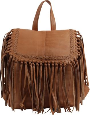 Day & Mood Anna Backpack Camel - Day & Mood Leather Handbags