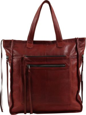 Day & Mood Anni Tote Rusty Red - Day & Mood Leather Handbags