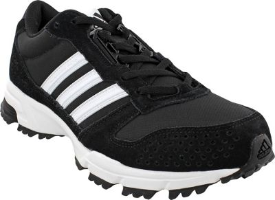 Adidas outdoor Mens Marathon 10 Trail Shoe 9.5 - Black/Wh...