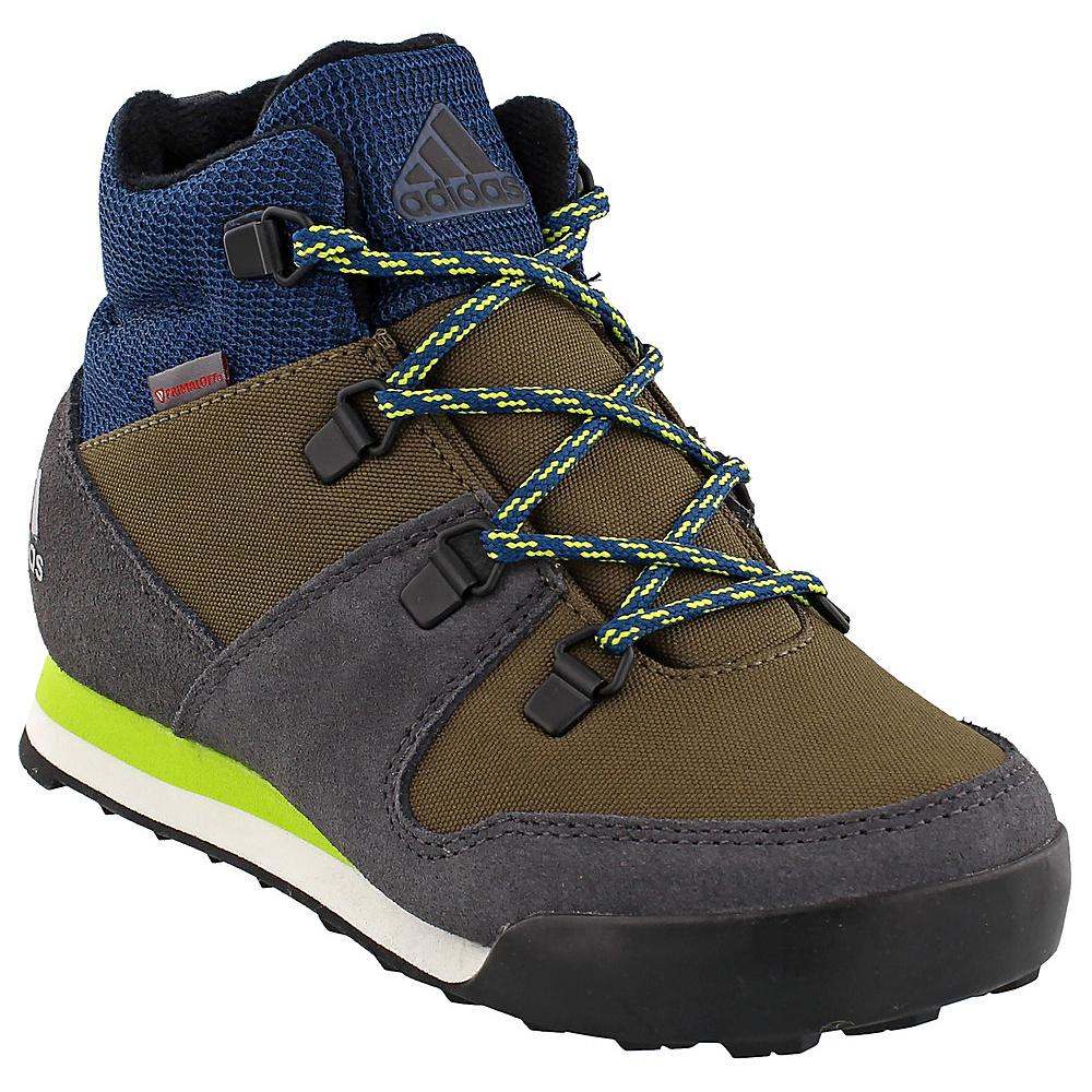 adidas outdoor Kids CW Snowpitch Shoe 10.5 (US Kids) - Trace Cargo/Utility Black/Semi S - adidas outdoor Womens Footwear - Apparel & Footwear, Women's Footwear