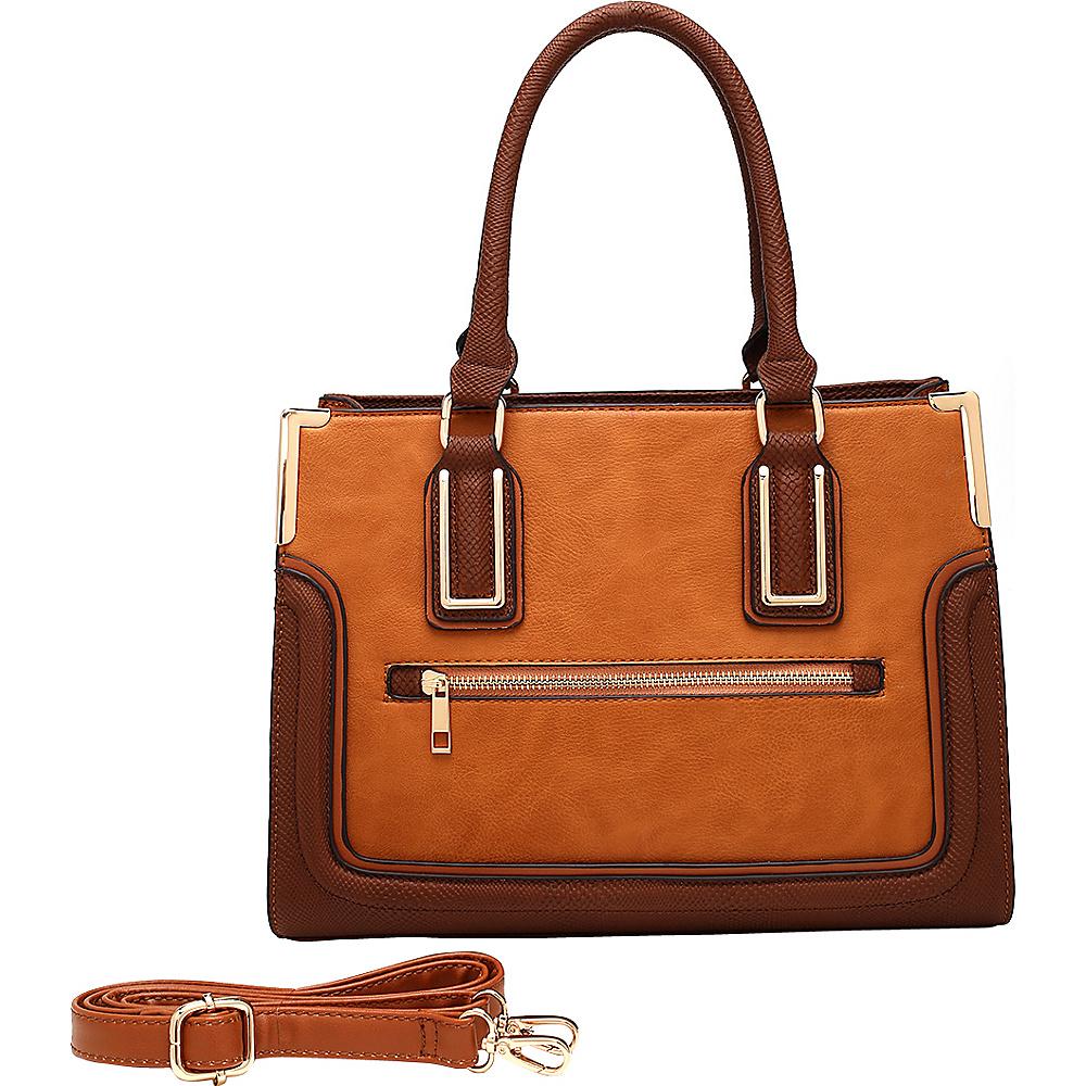 MKF Collection by Mia K. Farrow Camila Tote Camel - MKF Collection by Mia K. Farrow Manmade Handbags - Handbags, Manmade Handbags