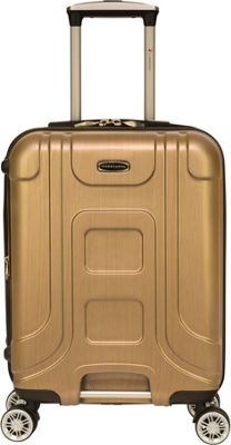 Gabbiano Provence 20 inch Expandable Carry-On Hardside Spinner Luggage Golden - Gabbiano Hardside Carry-On