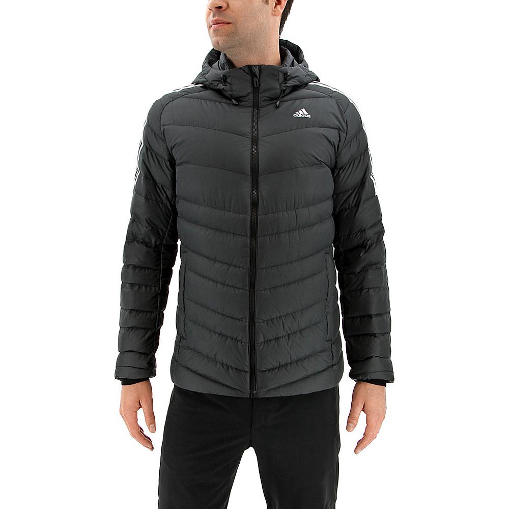 adidas outdoor Mens Climawarm Itavic 3-Stripe Jacket S - Black/White/White - adidas outdoor Mens Apparel - Apparel & Footwear, Men's Apparel
