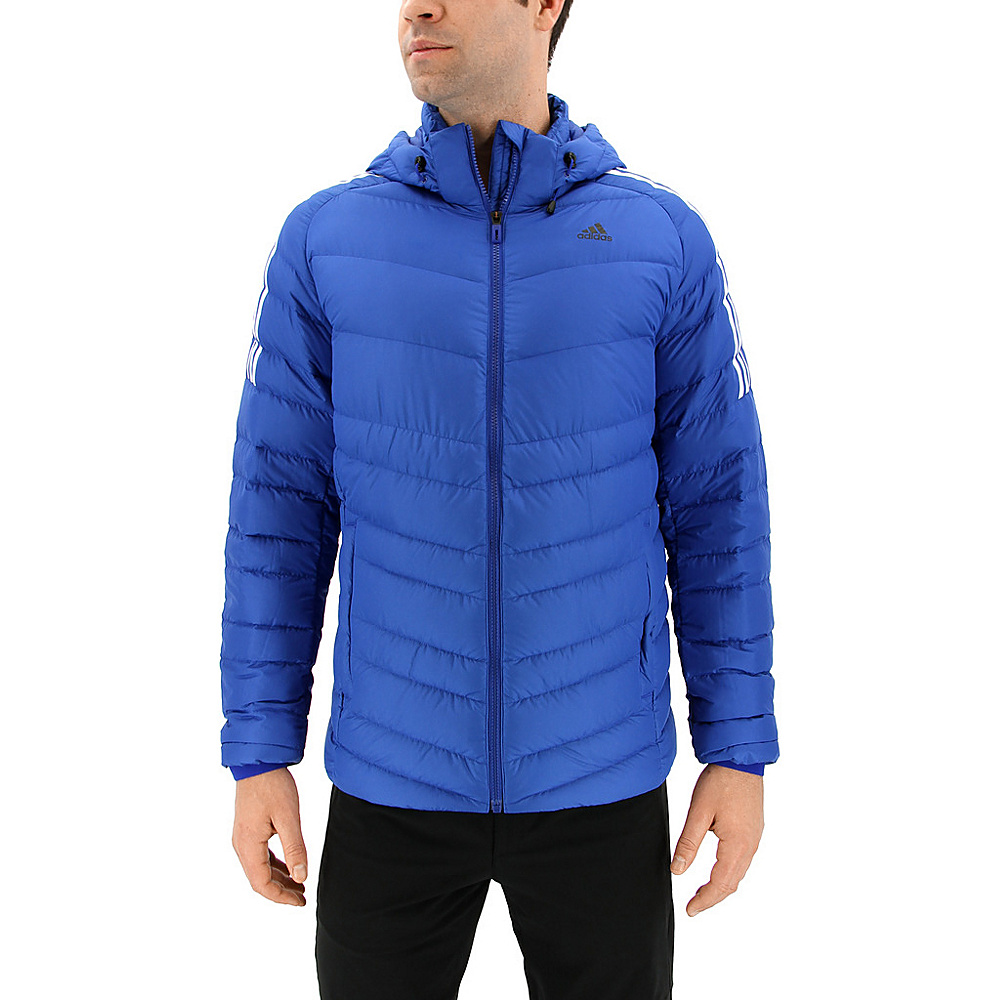 adidas outdoor Mens Climawarm Itavic 3-Stripe Jacket S - Collegiate Royal/White/Black - adidas outdoor Mens Apparel - Apparel & Footwear, Men's Apparel