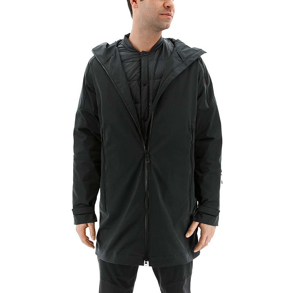 adidas outdoor Mens ZNE Parka M - Black - adidas outdoor Mens Apparel - Apparel & Footwear, Men's Apparel