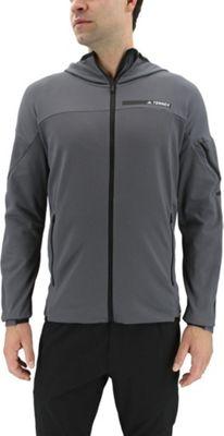 adidas outdoor Mens Terrex Radical Fleece Jacket M - Grey Five - adidas outdoor Men's Apparel 10600884