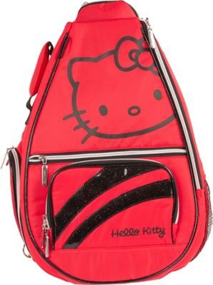 Hello Kitty Golf Hello Kitty Golf Premier Collection Tennis Backpack Red - Hello Kitty Golf Gym Bags