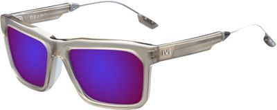 IVI IVI Deano Sunglasses Matte Dust - Polished Gunmetal - IVI Eyewear
