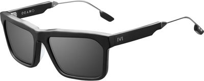 IVI Deano Sunglasses Matte Black - Polished Gunmetal/Grey AR - IVI Eyewear