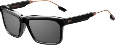IVI IVI Deano Sunglasses Polished Black And Copper - IVI Eyewear