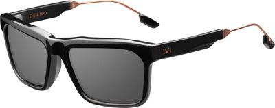 IVI Deano Sunglasses Polished Black And Copper - IVI Eyewear