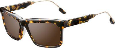 IVI Deano Sunglasses Polished Ambercomb Tortoise - Polished Gold - IVI Eyewear