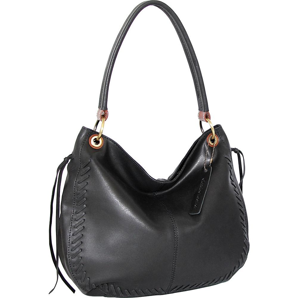Nino Bossi Blaze Hobo Black - Nino Bossi Leather Handbags - Handbags, Leather Handbags
