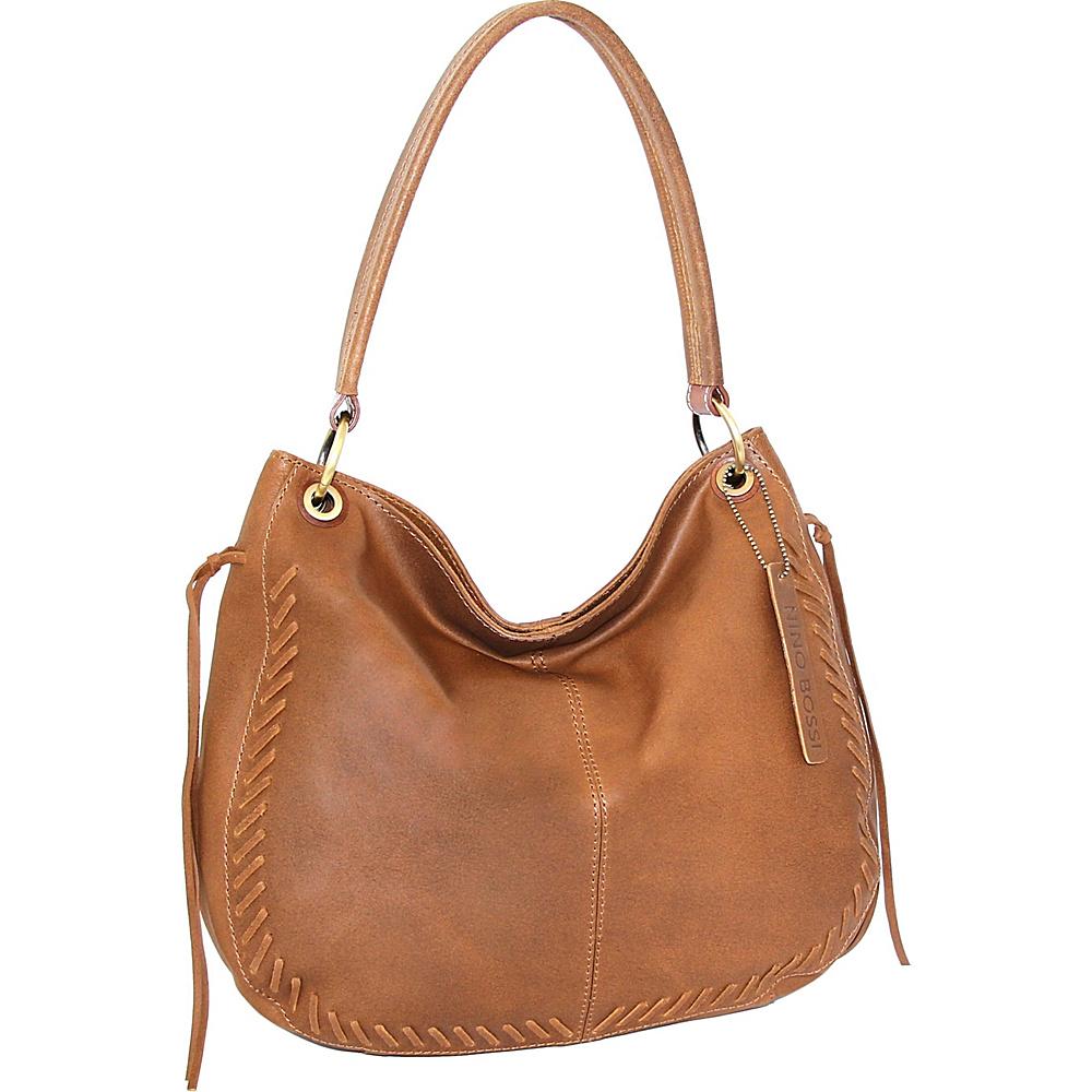 Nino Bossi Blaze Hobo Saddle - Nino Bossi Leather Handbags - Handbags, Leather Handbags