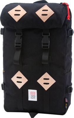 Topo Designs Klettersack Laptop Backpack Black - Topo Designs Laptop Backpacks