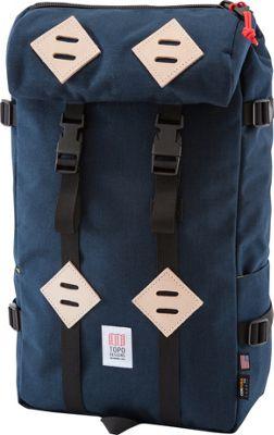 Topo Designs Klettersack Laptop Backpack Navy - Topo Designs Laptop Backpacks