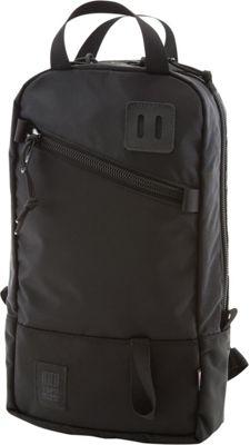 Topo Designs Trip Pack Ballistic Black - Topo Designs Laptop Backpacks