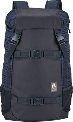 Nixon Landlock Laptop Backpack II Navy / Mix - Nixon Laptop Backpacks