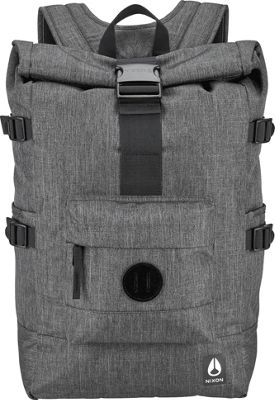 Nixon Swamis Backpack II Charcoal Heather - Nixon School & Day Hiking Backpacks
