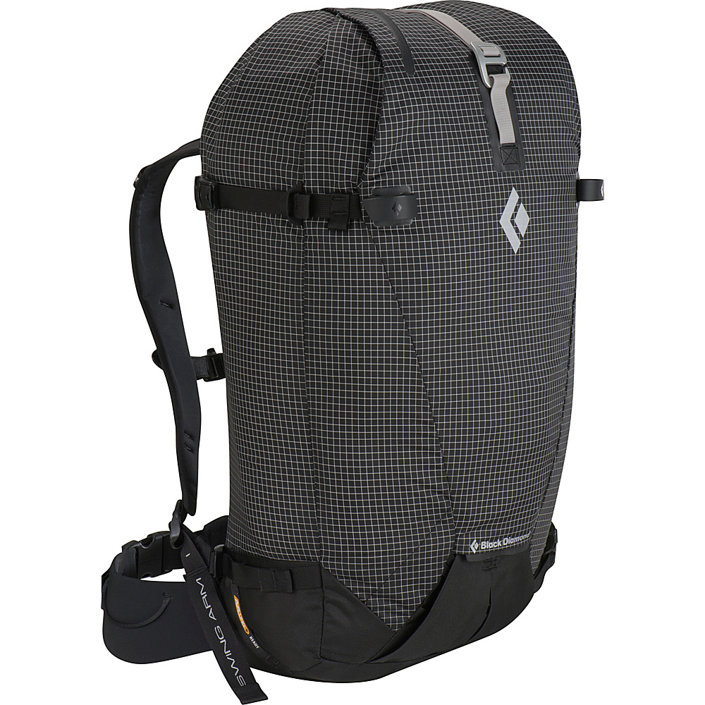 Black Diamond Cirque 45 Ski Pack Black - Small/Medium - Black Diamond Day Hiking Backpacks - Outdoor, Day Hiking Backpacks