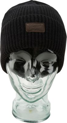 Original Penguin Mixed Rib Watchcap One Size - Black - Original Penguin Hats