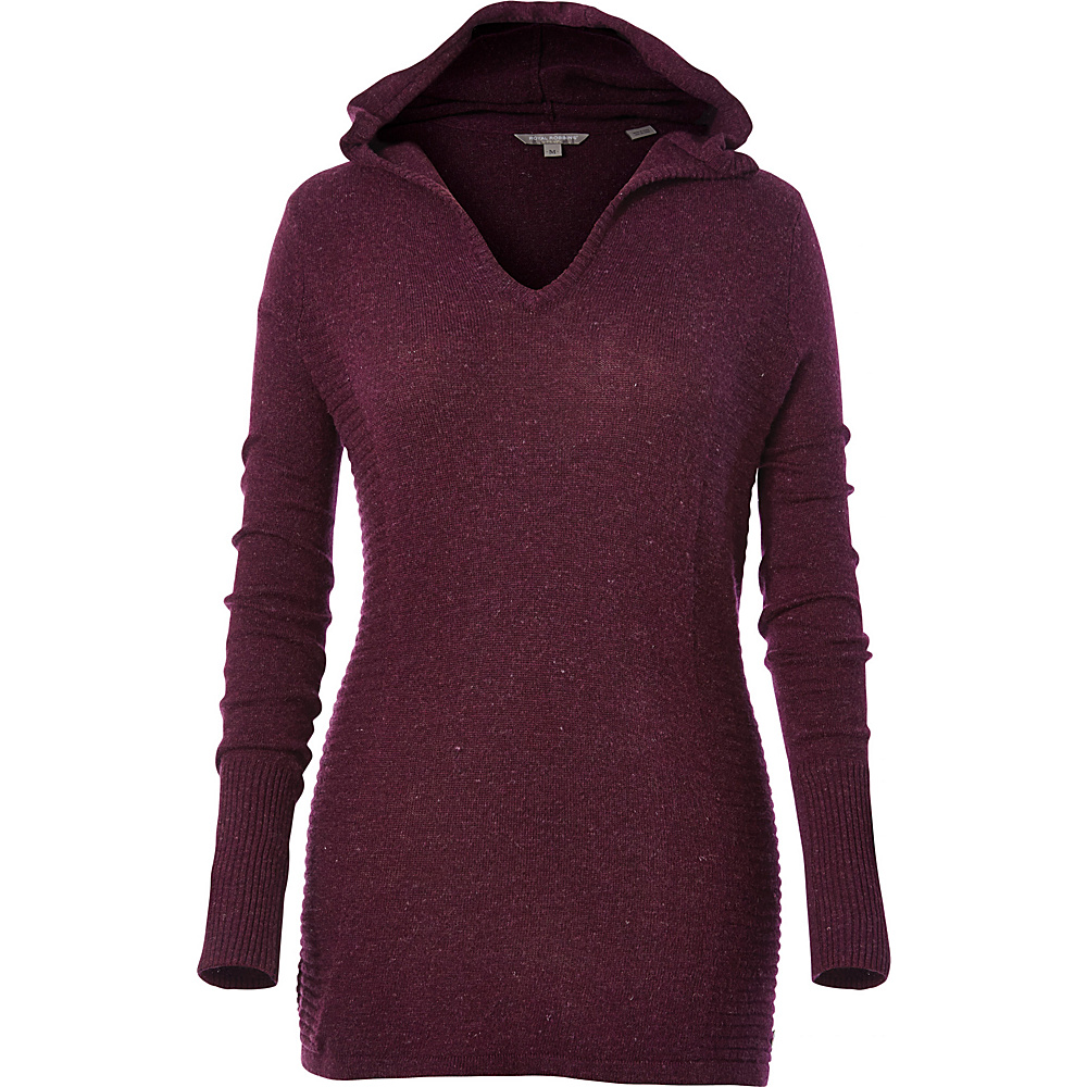 Royal Robbins Womens Highlands Hoody M - Plum Wine - Royal Robbins Womens Apparel - Apparel & Footwear, Women's Apparel