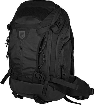 Cannae Pro Gear Marius 55L Hiking Pack Black - Cannae Pro Gear Backpacking Packs