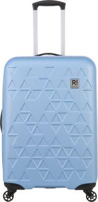 Revelation Echo Max 27 inch Expandable Hardside Checked Spinner Luggage Blue - Revelation Hardside Checked