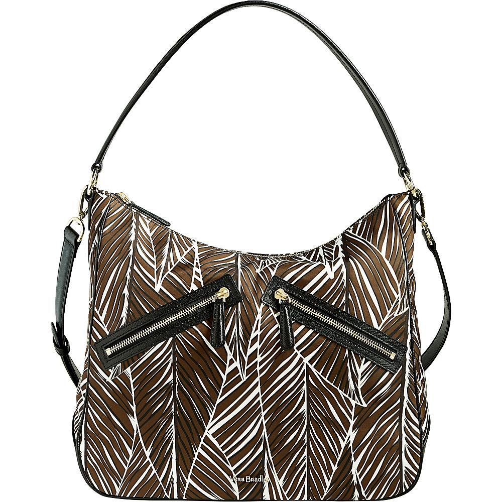 Vera Bradley Vivian Hobo Bag - Retired Colors Banana Leaves Brown - Vera Bradley Fabric Handbags - Handbags, Fabric Handbags