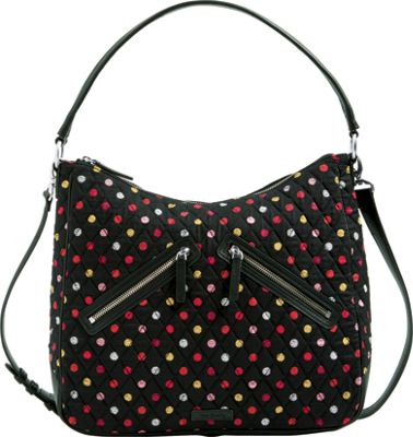 Vera Bradley Vivian Hobo Bag - Retired Colors Havana Dots...