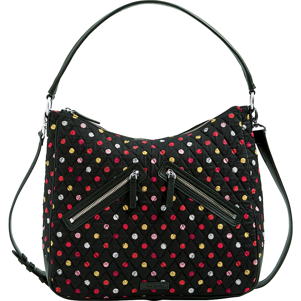 Vera Bradley Vivian Hobo Bag - Retired Colors Havana Dots - Vera Bradley Fabric Handbags - Handbags, Fabric Handbags