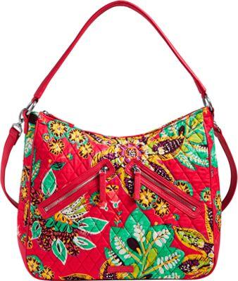 Vera Bradley Vivian Hobo Bag - Retired Colors Rumba - Vera Bradley Fabric Handbags
