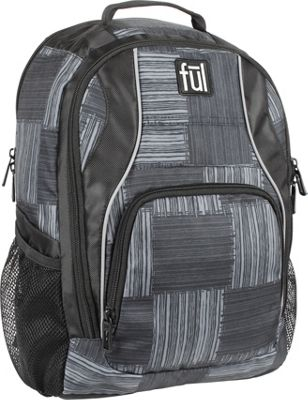 ful Dax Padded Laptop Backpack Black/Grey