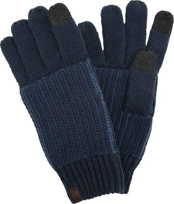 Keds Color Block Gloves One Size - Blue Depths/Arona - Keds Hats/Gloves/Scarves